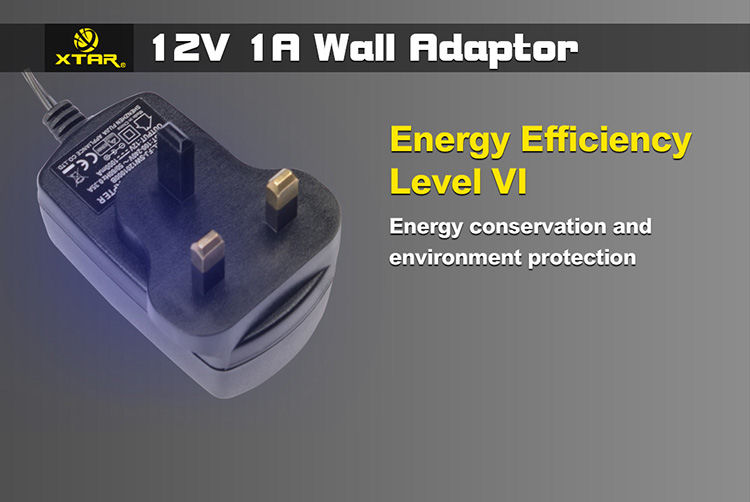 12V 1A Wall Adaptor For VP1/VP2/WP2II/WP2H/WP2S/XP4C/VP4
