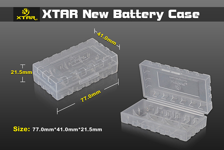 18650 Battery Storage Box