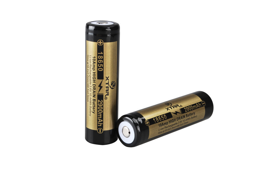 18650 2900mAh IMR Battery (Unprotected)
