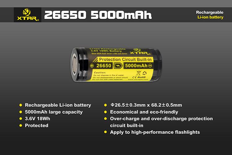 Xtar 26650 5000mah Battery 1024x1024