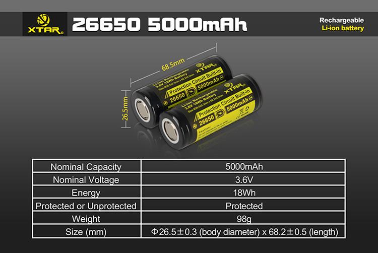 Xtar 26650 5000mah Battery 5 1024x1024