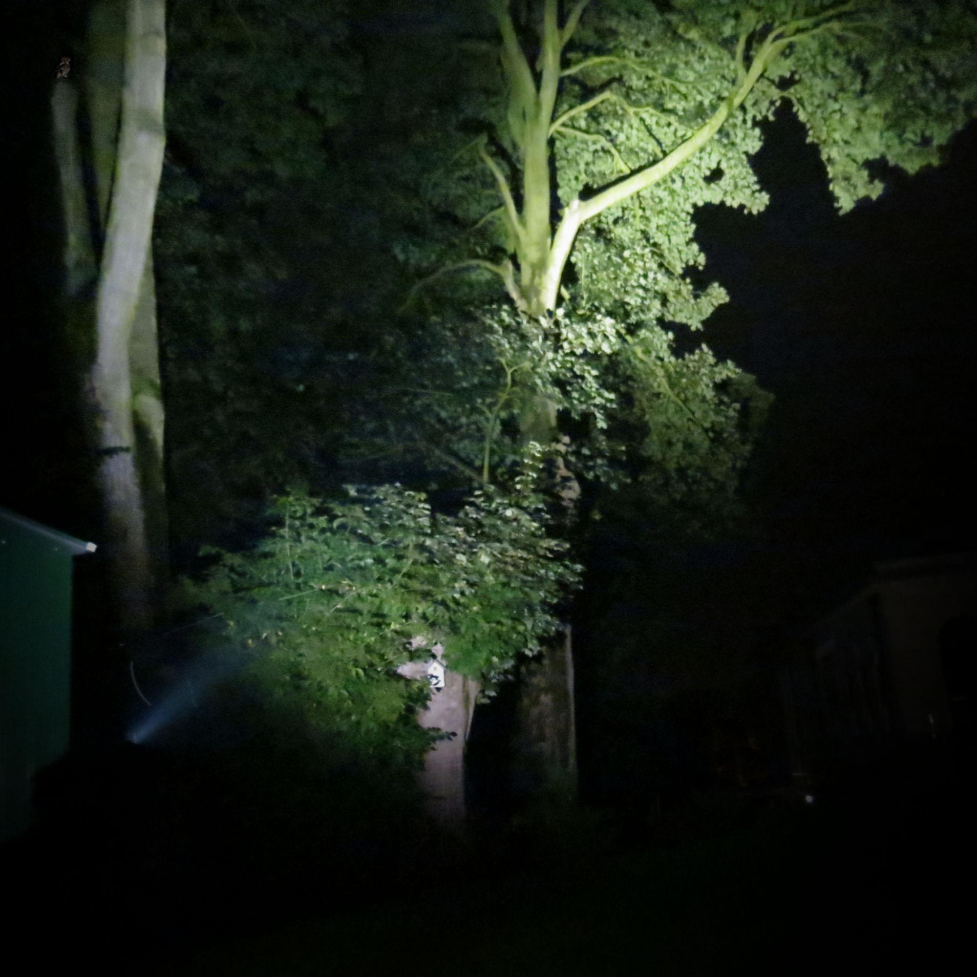 Xtar H3 At Night On Turbo Mode